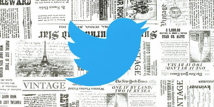 twitter newspaper publications