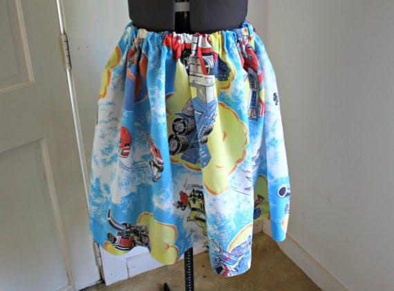 Transformers skirt Etsy