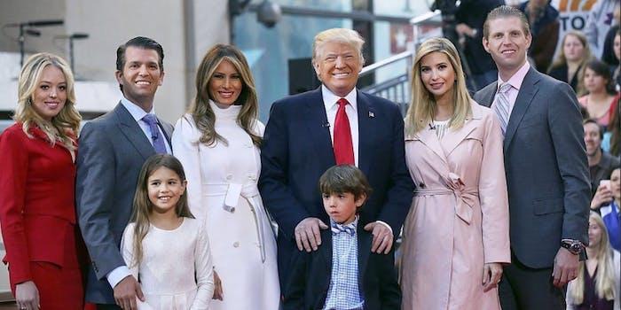 trump family likes
