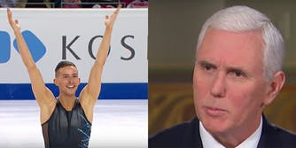 Adam Rippon, an openly gay Olympic figure skater, reportedly refused to meet with Vice President Mike Pence.