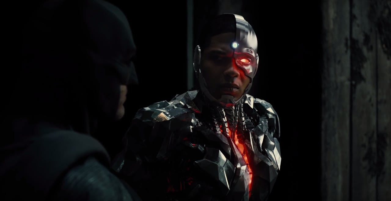 justice league movie cast : Ray Fisher as Cyborg