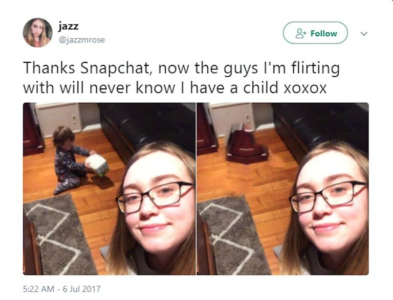 Snapchat flirting