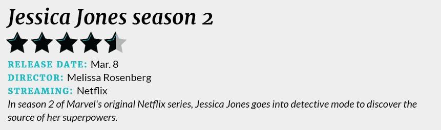 Jessica Jones season 2 review box