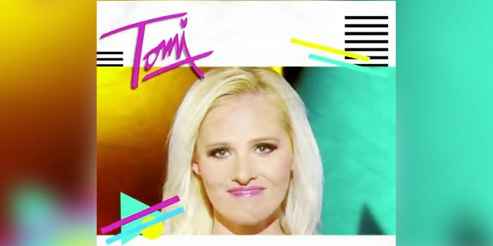 This is Tomi Lahren as an '80s song.