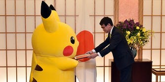 Pikachu, Hello Kitty selected as ambassadors of Japan.