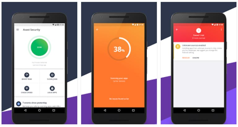 antivirus for samsung android : Avast Mobile Security Android App