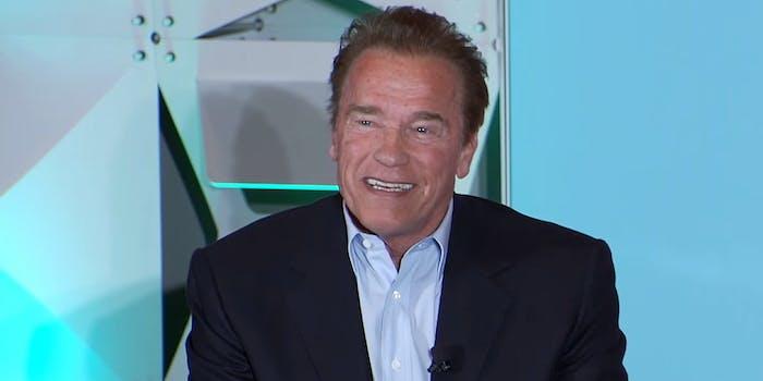 Arnold Schwarzenegger at SXSW