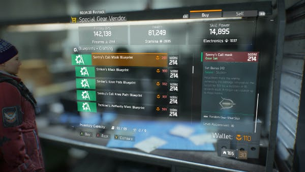 Gear set blueprints are extremely expensive.