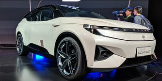 byton electric self-driving concept suv