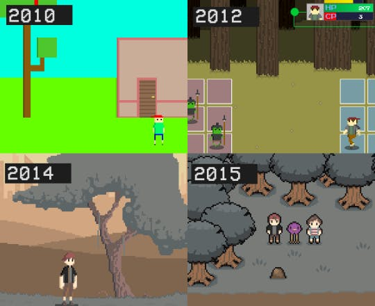 How Glitched has evolved since 2010