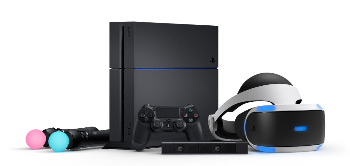 PlayStation VR System w/ PS4 Console