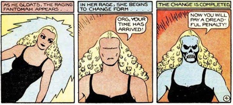 female superheroes : Fantomah