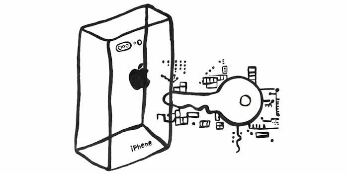 iphone encryption key
