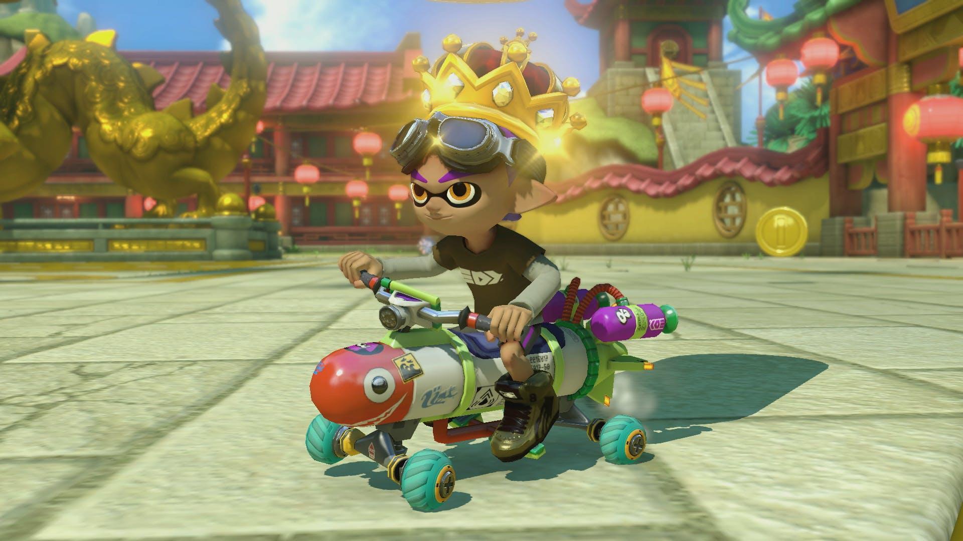 MarioKart 8 battle mode