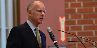 California Gov. Jerry Brown