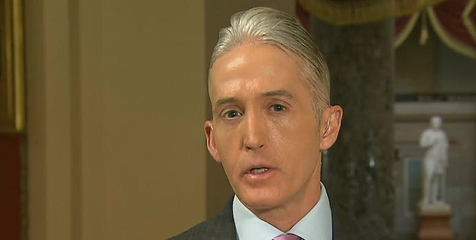 Rep. Trey Gowdy said the House Oversight Committee is investigating the White House's employment of Rob Porter following allegations of domestic abuse.
