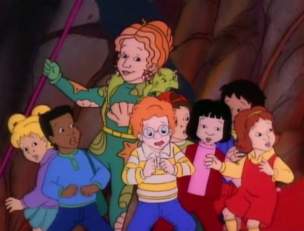 magic school bus characters
