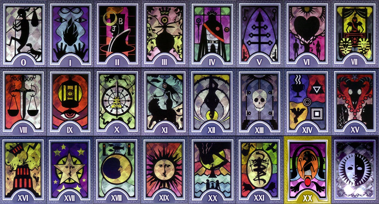 Tarod deck based on the popular Persona game franchise