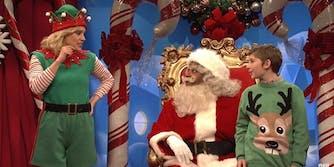 SNL cold open Santa Claus