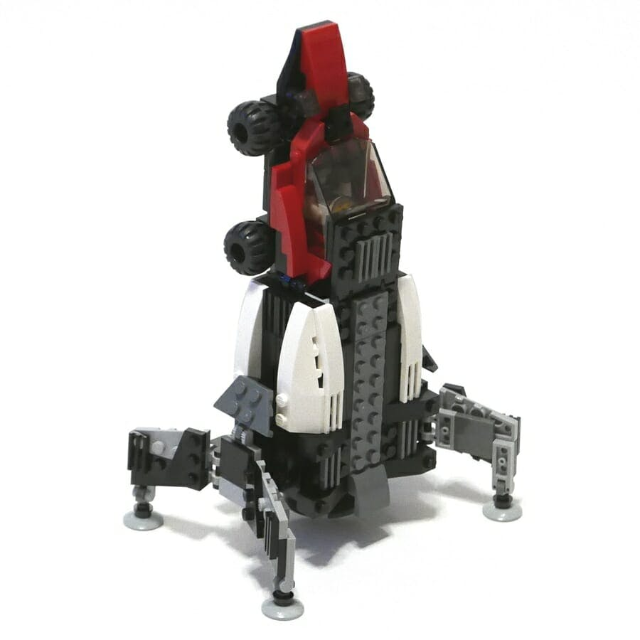 rocket car lego