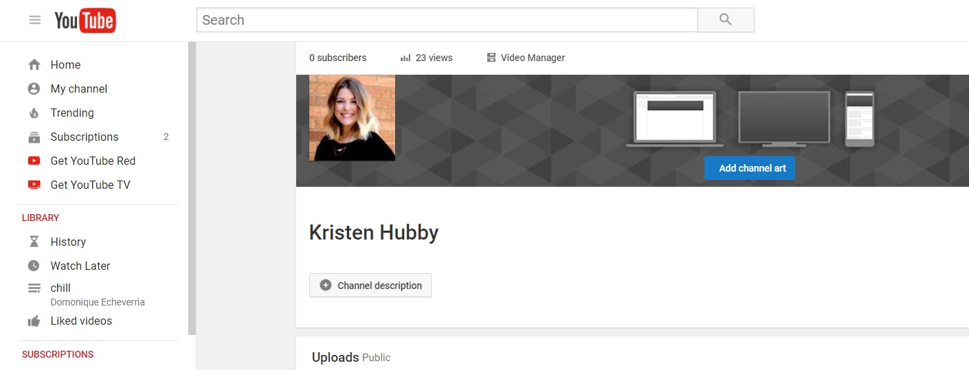 How to create a YouTube account