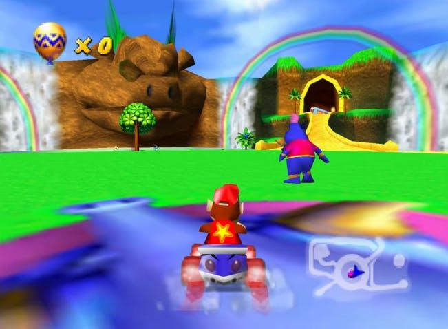 'Diddy Kong Racing' emulation