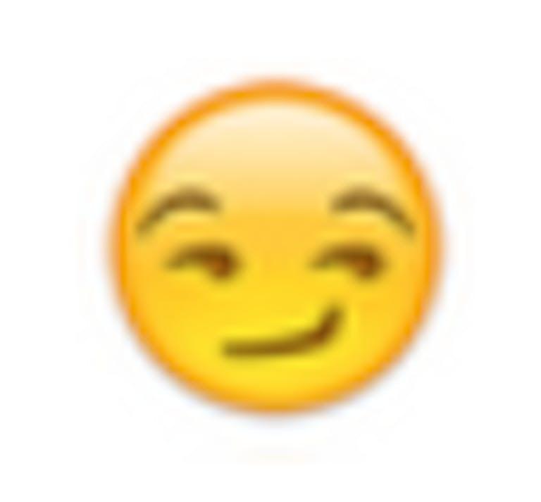 The emoji that unlocks hidden porn on Instagram: The Smirk Emoji