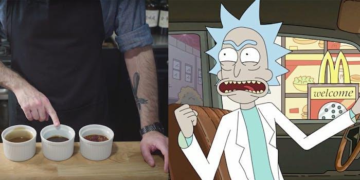 Rick & Morty Szechuan Sauce