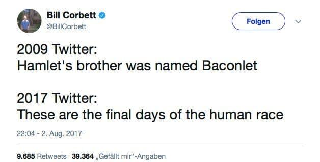 bill corbett baconlet tweet