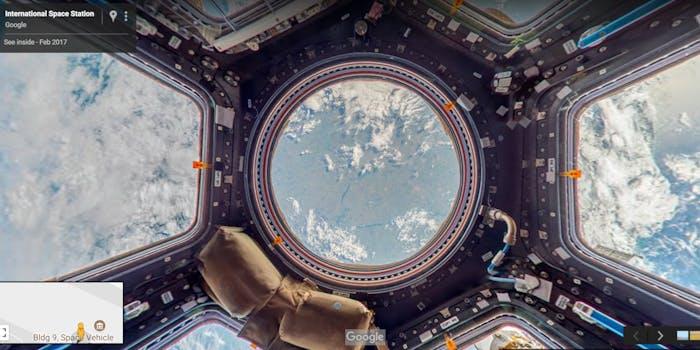 google maps street view international space station