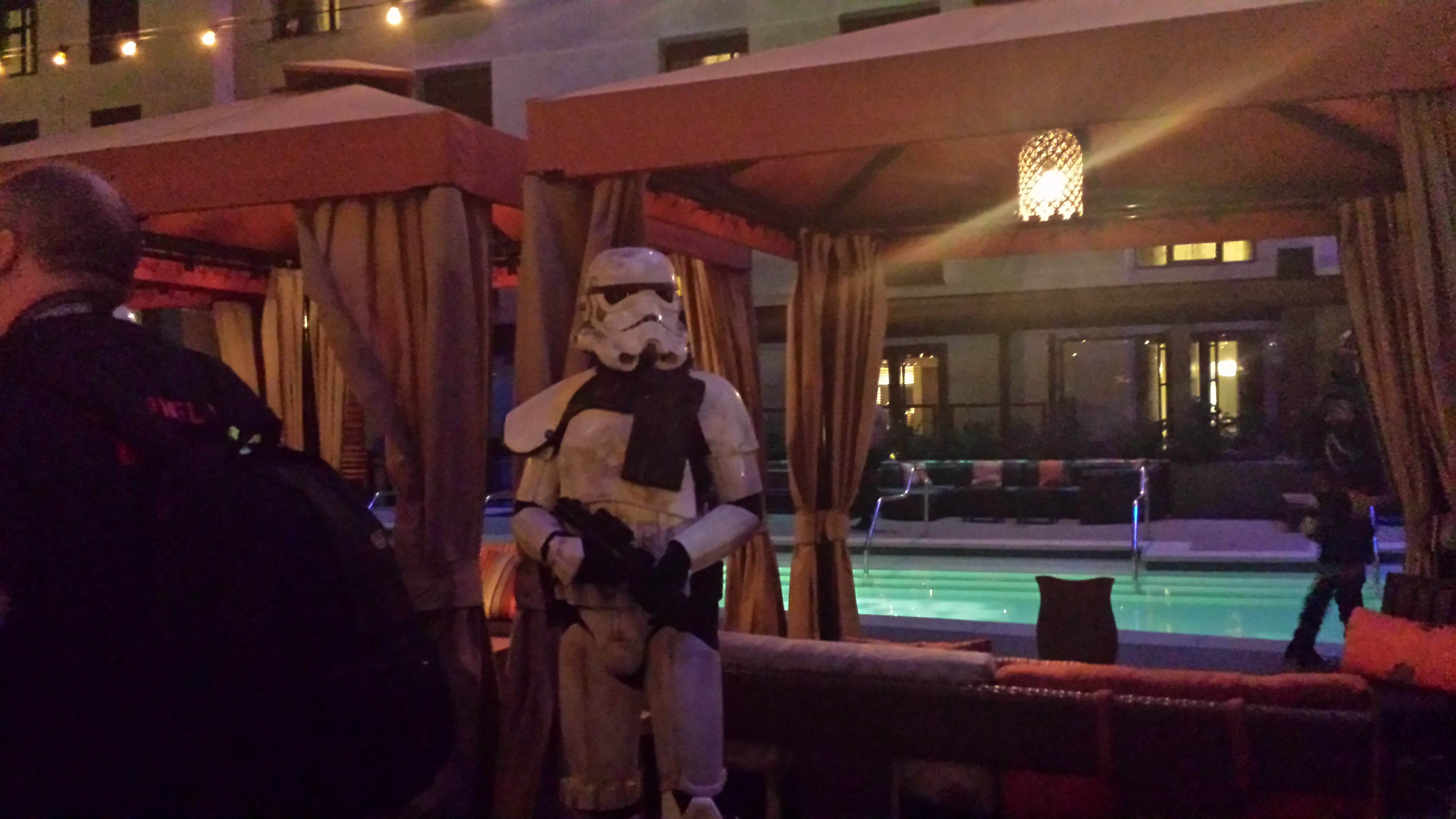 Star Wars Rebels party at San Diego Comic Con 2014