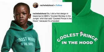Rachel Dolezal created a 'protest hoodie' against H&M's offensive ad, and people are still offended.