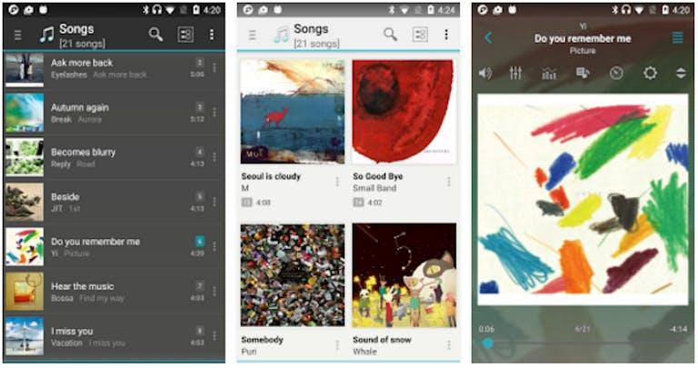 android music player : jetAudio