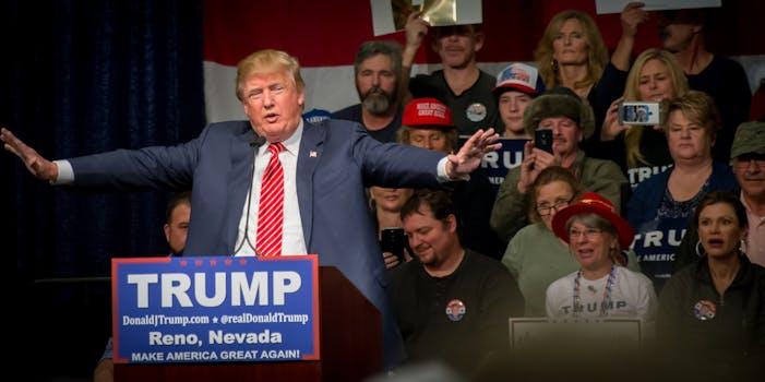 Donald Trump Nevada rally