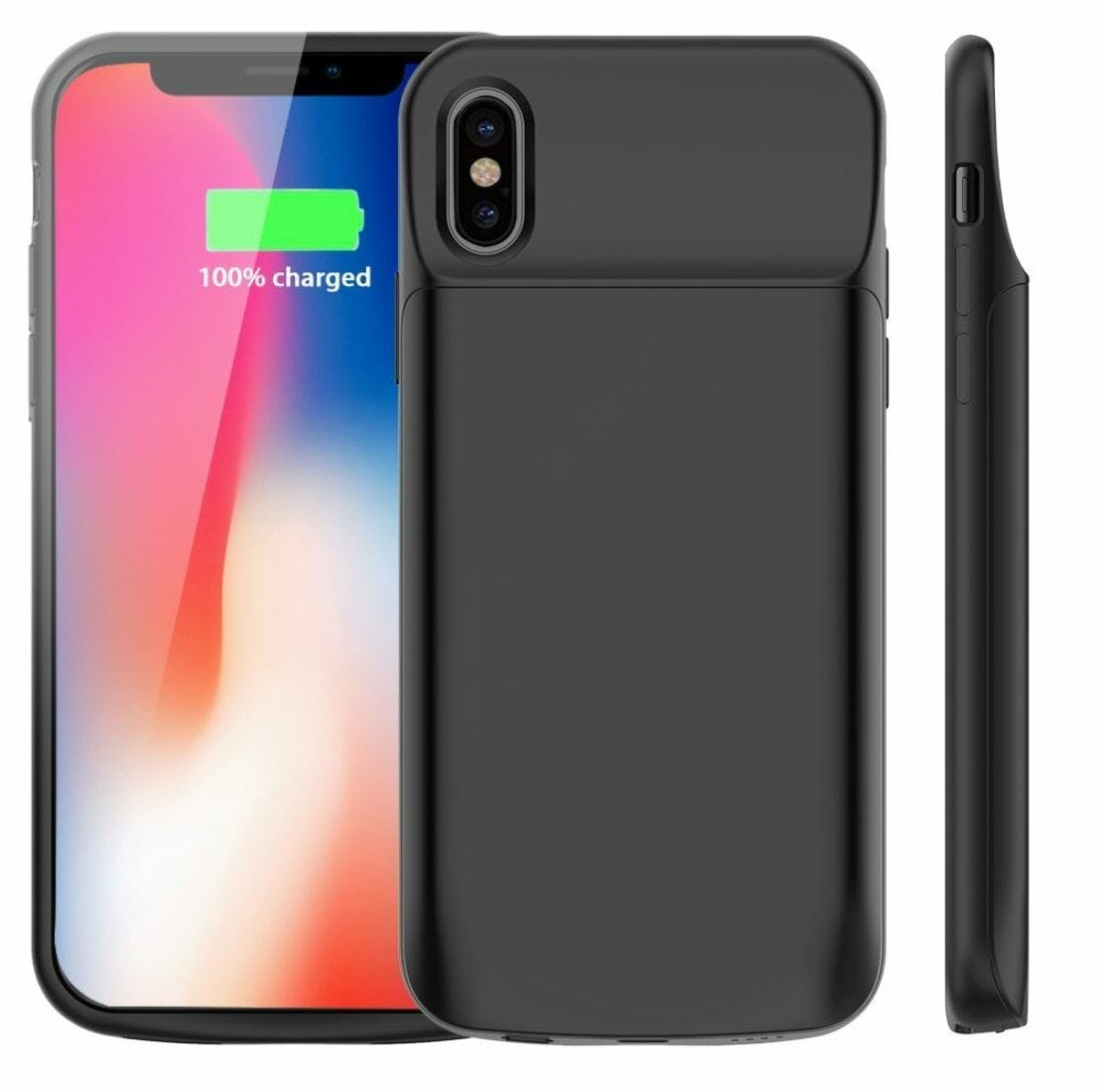 iphone x case vproof battery 6,000mah case