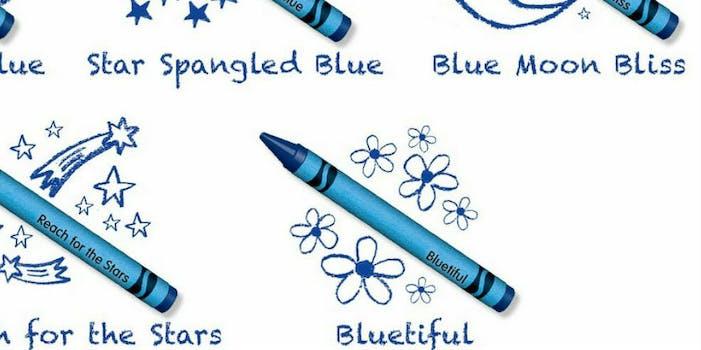 crayola bluetiful