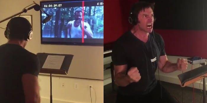 Hugh Jackman Wolverine voice dubbing