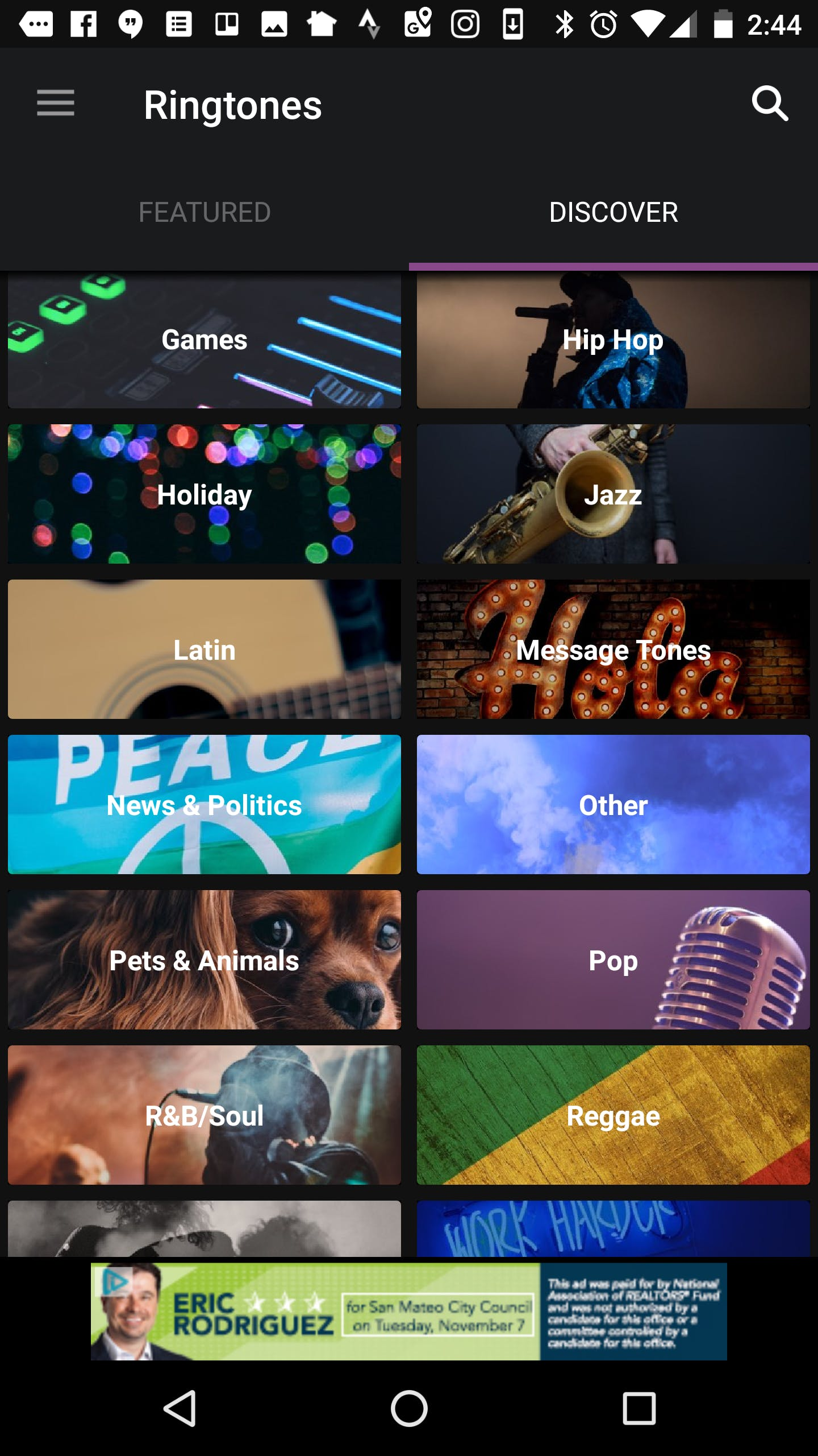Zedge : free ringtones for android