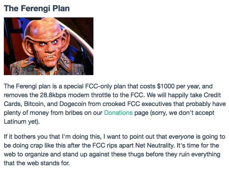 FCC net neutrality thorttling