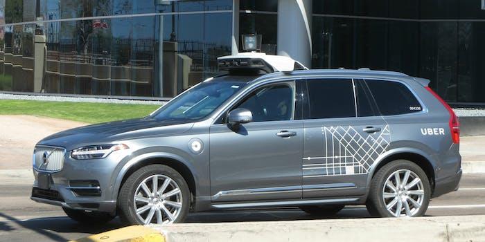 uber self-driving autonomous car vehicle