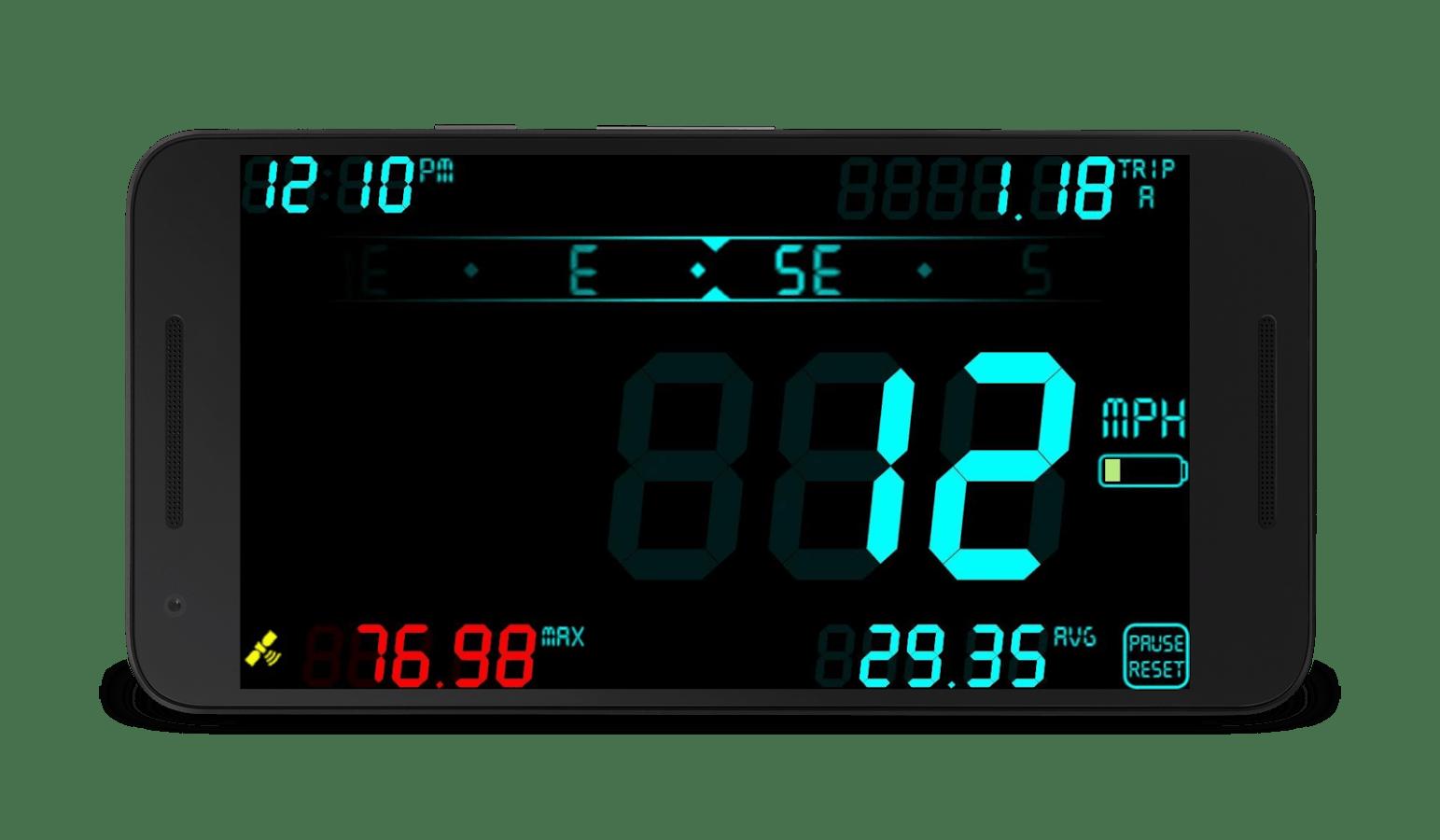 DigiHUD Speedometer app