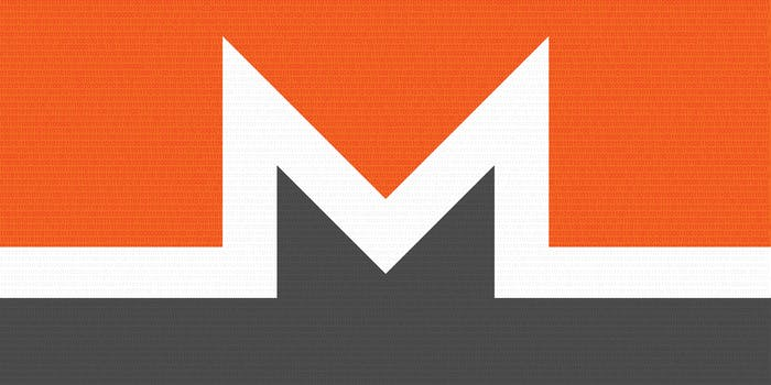 What is Monero? Monero logo with binary overlay