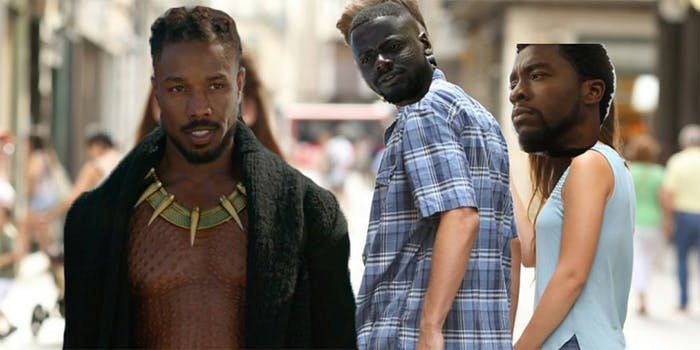 'Black Panther' Works Perfectly With Distracted Boyfriend Meme