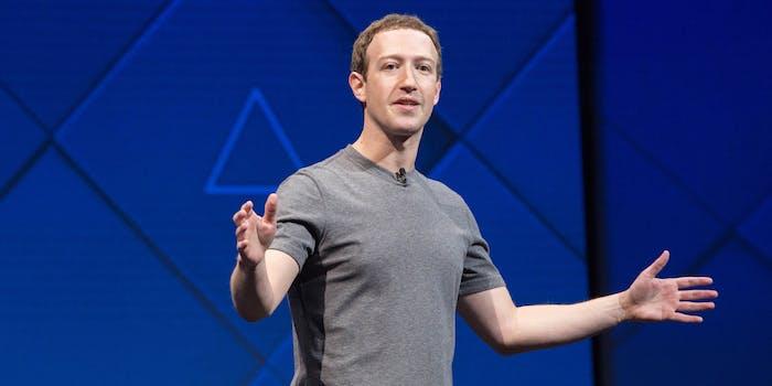 mark zuckerberg facebook f8 2017