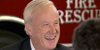 Chris Matthews joked about his 'Bill Cosby pill' before a 2016 interview with Hillary Clinton.