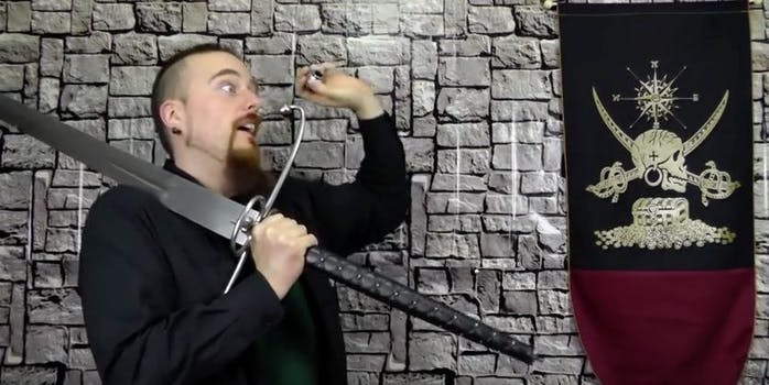 end him rightly: skallagrim demonstrates end him rightly technique