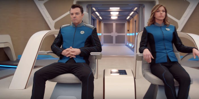 Seth McFarlane in the orville trailer