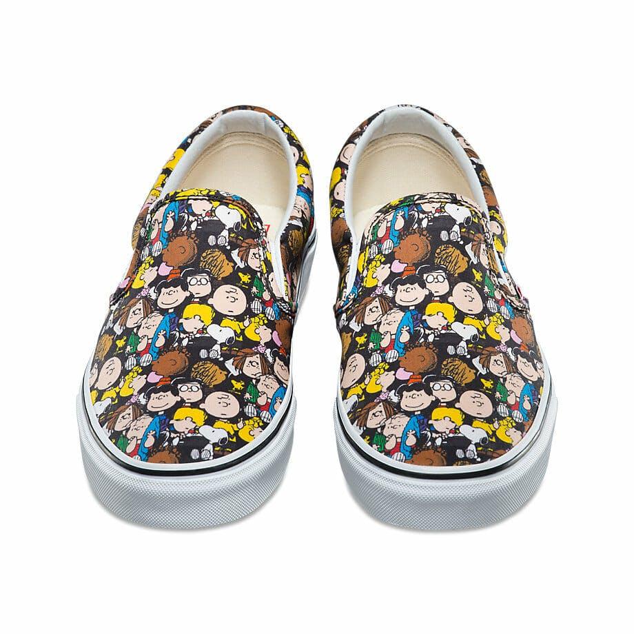vans peanuts shoes charlie brown characters