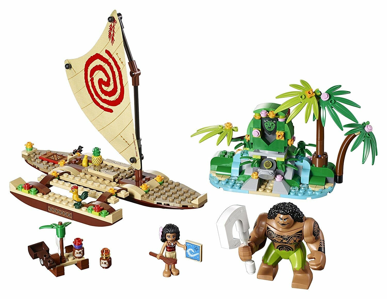 legos for girls : Lego Disney Princess Moana's Ocean Voyage