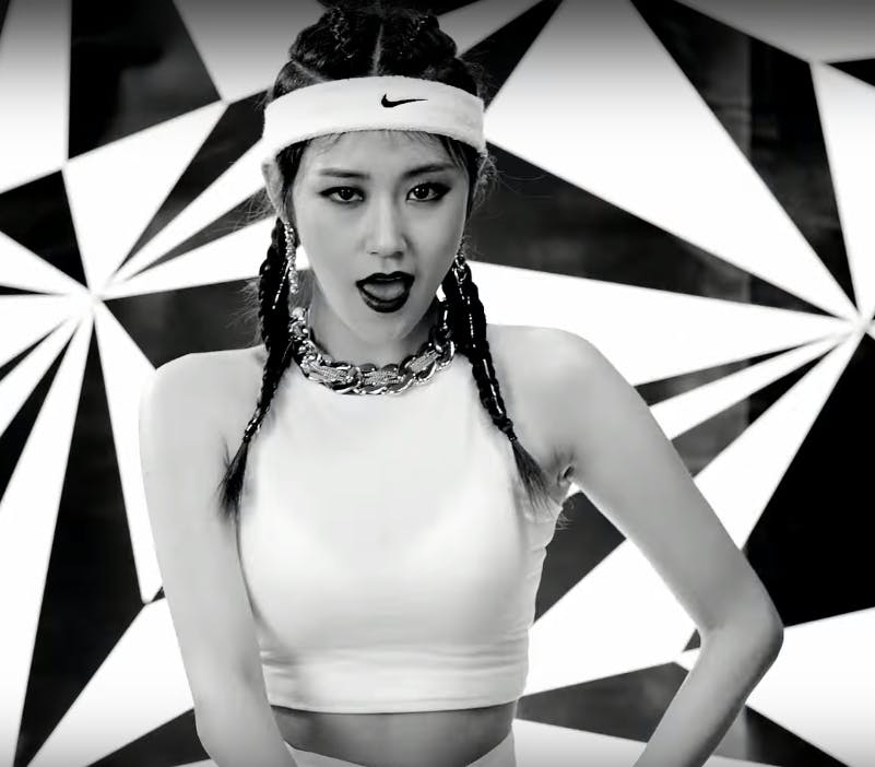 """4Minute's Gayoon in """"Crazy"""""""